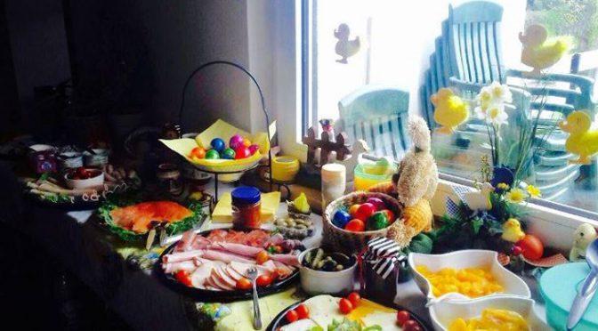 Osterfrühstück und -ritt